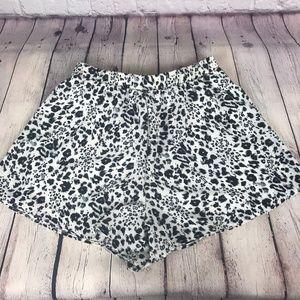 NWT Papermoon Cheetah Animal Print Shorts Small